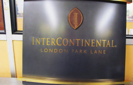 Free Standing Hotel Reception Sign